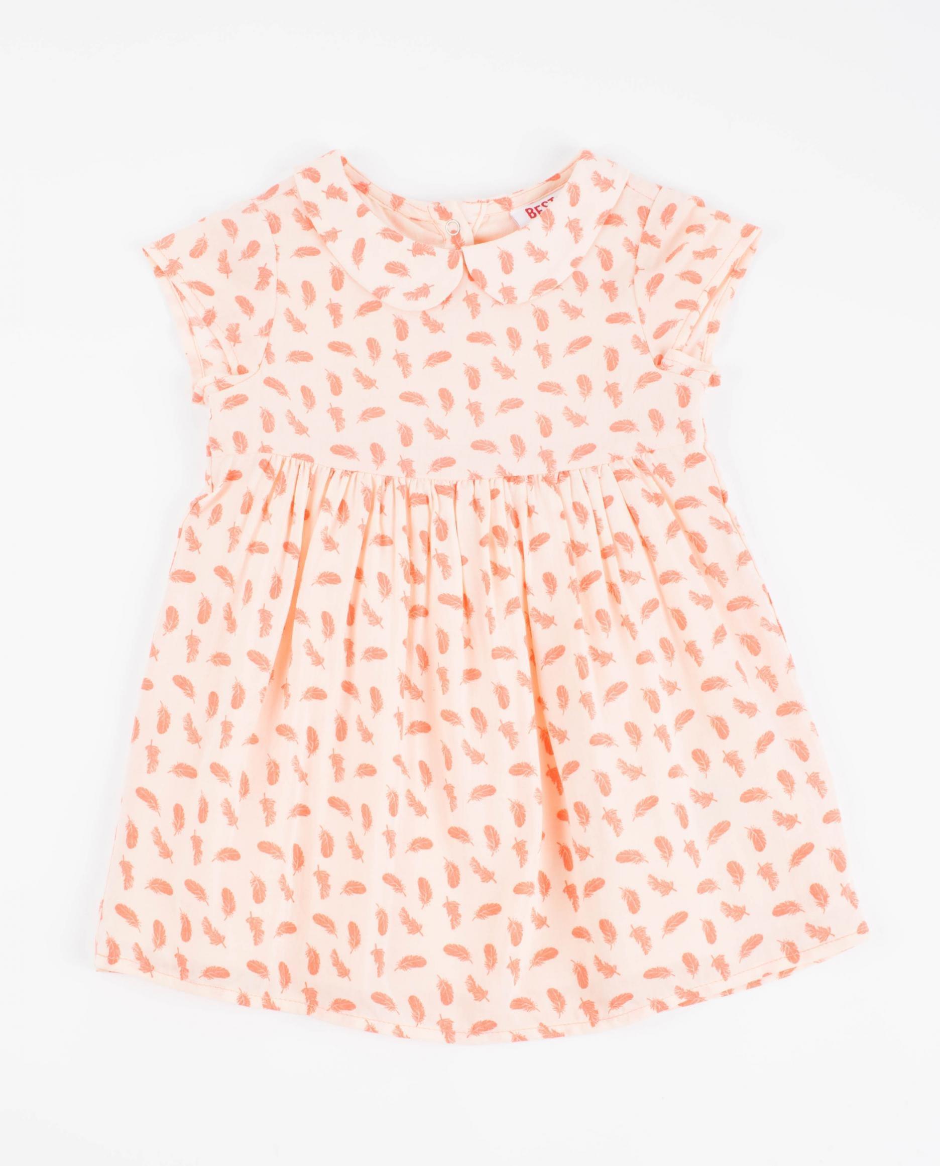 Mintgroen baby jurkje
